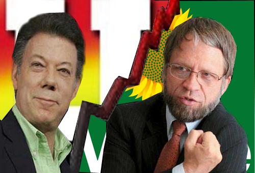 Résultats de recherche d'images pour «campaña electoral presidenciales 2009 colombia santos mockus»