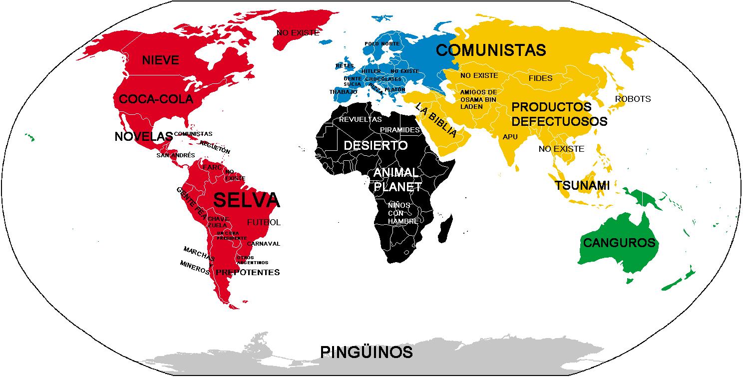 El mundo seg n los colombianos naritoons desde la casa for El mundo del mueble sillones